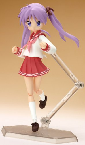 Image 4 for Lucky☆Star - Hiiragi Kagami - Figma - 013 - Winter School Uniform (Max Factory)