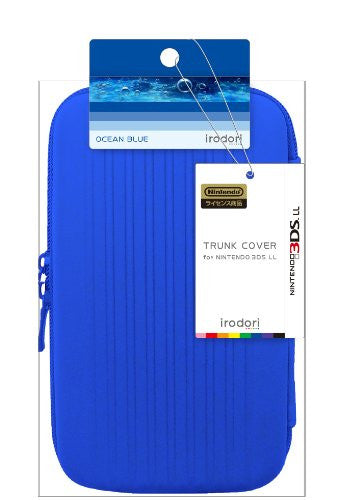 Image 2 for Trunk Cover for 3DS LL (Ocean Blue)