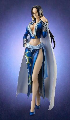 Image 3 for One Piece - Boa Hancock - Excellent Model - Portrait Of Pirates EX - 1/8 - Blue ver. (MegaHouse)