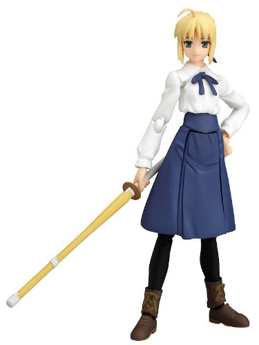 Image 1 for Fate/Stay Night - Saber - Figma #050 - Casual Clothes Ver. (Max Factory)