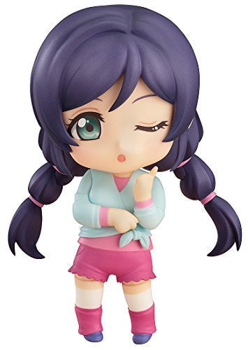 Image 1 for Love Live! School Idol Project - Toujou Nozomi - Nendoroid #584 - Training Outfit Ver. (Good Smile Company)