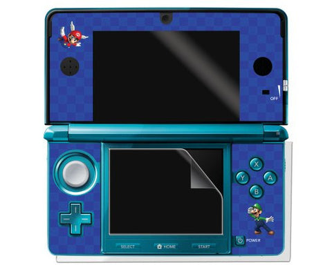 Image for Super Mario Character Sticker 3DS (Blue)
