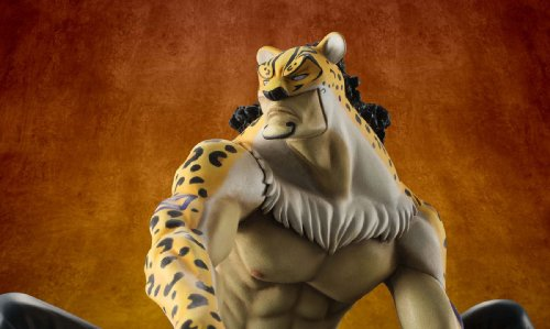 "Image 11 for One Piece - Rob Lucci - Excellent Model - Portrait Of Pirates ""MAS"" - 1/8 (MegaHouse)"