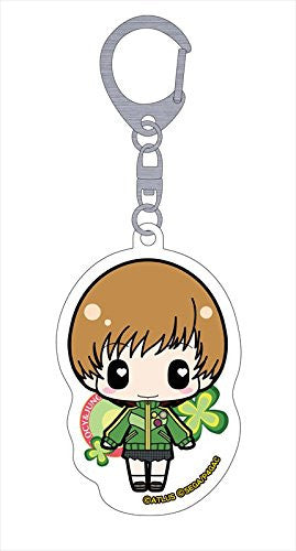 Image 1 for Persona 4: the Golden Animation - Satonaka Chie - Deka Keyholder - Keyholder (Penguin Parade)