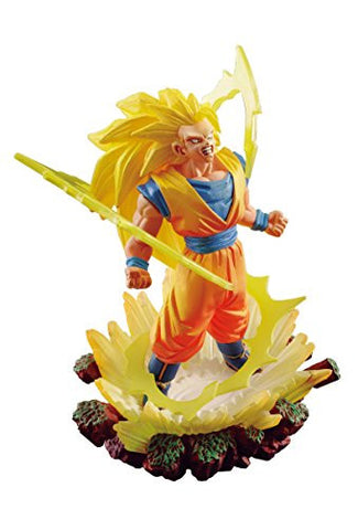 Image for Dragon Ball Super - Son Goku SSJ3 - Dragon Ball Capsule Memorial 02 (MegaHouse)