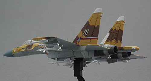 "Image 3 for GiMIX Aircraft Series - AC601 - Russian Air Force Su-37 - 1/144 - Flanker E2  ""711"" (Tomytec)"