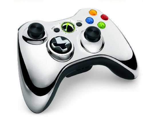 Image 3 for Xbox 360 Wireless Controller SE (Chrome Silver)