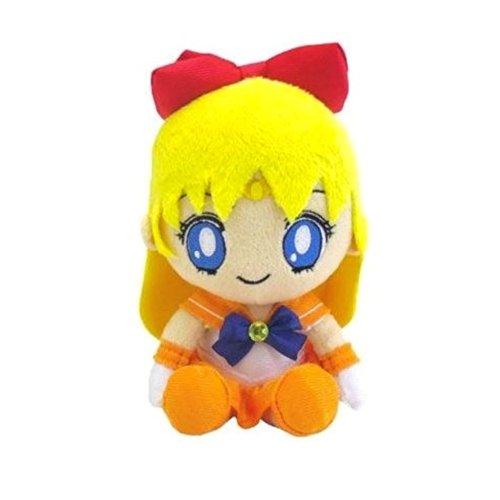 Bishoujo Senshi Sailor Moon - Sailor Venus - Mini Cushion - Sailor Moon Mini Plush Cushion (Bandai)