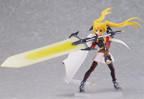 Image 4 for Mahou Shoujo Lyrical Nanoha The Movie 2nd A's - Fate Testarossa - Figma #186 - Blaze Form ver. (Max Factory)