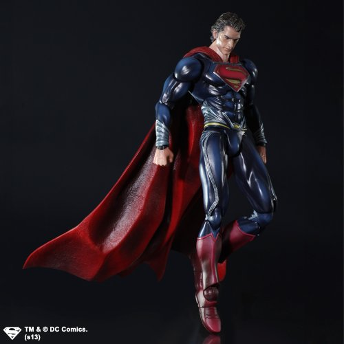 Image 2 for Man of Steel - Superman - Play Arts Kai (Square Enix)