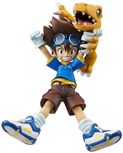 Image 1 for Digimon Adventure - Agumon - Yagami Taichi - G.E.M. - 1/10 - Re-release (MegaHouse)