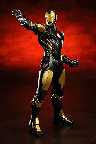 Image 2 for The Avengers - Iron Man - ARTFX+ - Marvel The Avengers ARTFX+ - 1/10 - Black  x Gold (Kotobukiya)