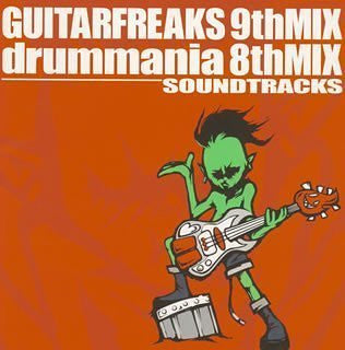 Image 1 for GUITAR FREAKS 9thMIX & drummania 8thMIX SOUNDTRACKS