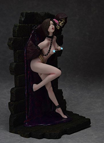 "Image 5 for Shungo Yazawa Original Figure Series - Hell Seducer ""Toraware no Hana"" - 1/6 - Brown Hair ver. (Blackberry)"