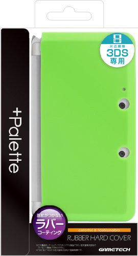 Image 1 for Palette Rubber Hardcover for 3DS (Lime Green)