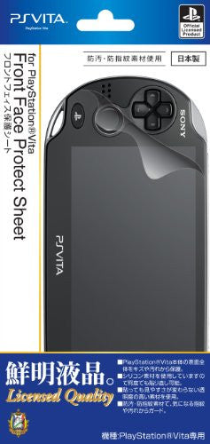Image 1 for Front Face Protective Sheet for PlayStation Vita