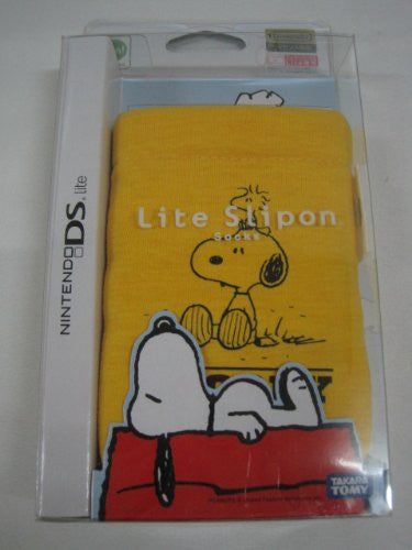 Image 1 for Peanuts Lite Slipon Socks Pouch - Yellow