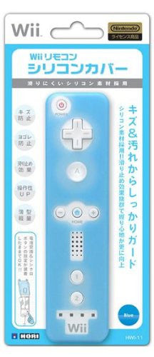 Image 1 for Wii Remote Controller Silicon Cover (blue)