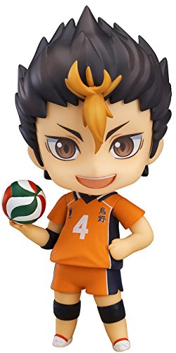Image 1 for Haikyuu!! Second Season - Nishinoya Yuu - Nendoroid #592 (Orange Rouge)