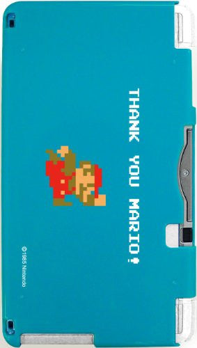Image 3 for Body Cover 3DS Type G (Super Mario Bros. Turquoise)