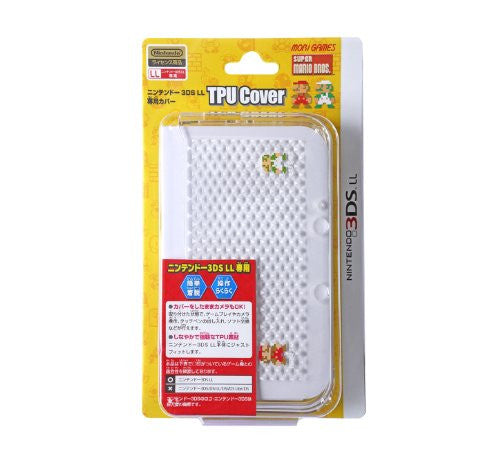 Image 2 for Super Mario Bros. TPU Cover for 3DS LL (Clear)
