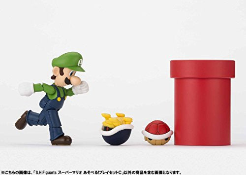 Image 12 for Super Mario Brothers - Met - Pakkun Flower - S.H.Figuarts - S.H.Figuarts Playset - Diorama Play Set C - C (Bandai)