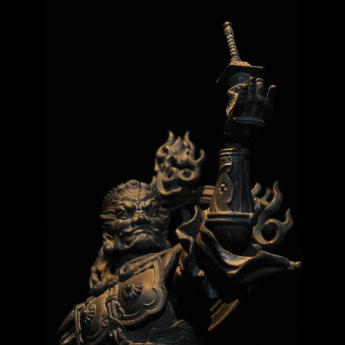 Image 8 for Tamon-ten - Revoltech - Revoltech Takeya - 01EX - Wood Ver. (Kaiyodo)