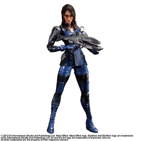 Mass Effect 3 - Ashley Williams - Play Arts Kai (Square Enix)