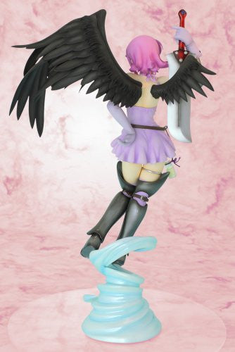 Image 3 for Queen's Blade - Nanael - R-Line - 1/7 - Black/Purple 2P color ver. (Griffon Enterprises)