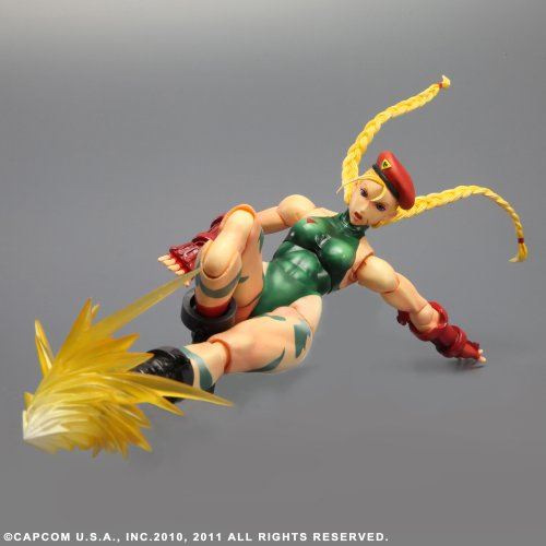 Image 4 for Super Street Fighter IV: Arcade Edition - Cammy - Play Arts Kai (Square Enix)