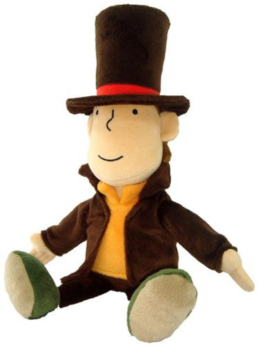 Image 1 for Layton Kyouju to Eien no Utahime - Hershel Layton - Plush (Size Small) (San-ei)