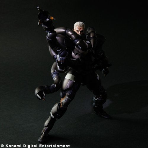 Image 5 for Metal Gear Solid 2 - Solidus Snake - Play Arts Kai (Square Enix)