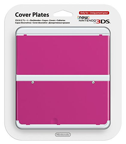 Image for New Nintendo 3DS Cover Plates No.032 (Pink)