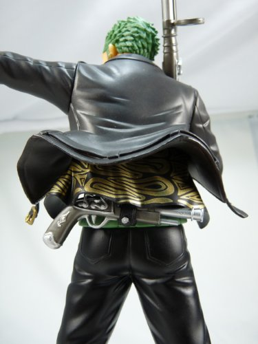 Image 5 for One Piece - Roronoa Zoro - Door Painting Collection Figure - 1/7 - The Three Musketeers Ver. (Plex)