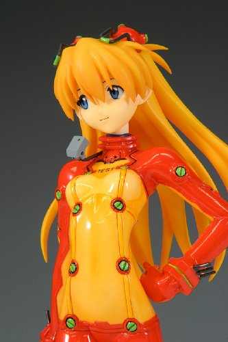 Image 7 for Evangelion Shin Gekijouban - Souryuu Asuka Langley - Treasure Figure Collection - 1/10 - Test Plug Suit ver. (Wave)