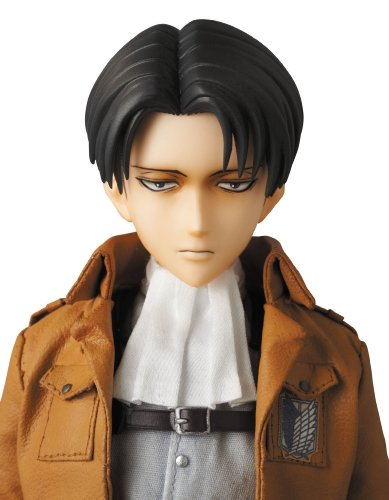 Image 7 for Shingeki no Kyojin - Levi - Real Action Heroes #662 - 1/6 (Medicom Toy)