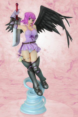 Image 4 for Queen's Blade - Nanael - R-Line - 1/7 - Black/Purple 2P color ver. (Griffon Enterprises)