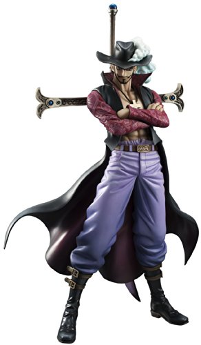 Image 1 for One Piece - Juracule Mihawk - Excellent Model - Portrait Of Pirates DX - 1/8 - Ver. 2 (MegaHouse)