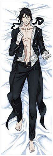 Image 1 for Kuroshitsuji ~Book of Circus~ - Sebastian Michaelis - Dakimakura Cover (Movic)