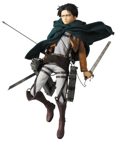 Image 1 for Shingeki no Kyojin - Levi - Real Action Heroes #662 - 1/6 (Medicom Toy)