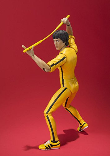 Image 4 for Game of Death - Bruce Lee - S.H.Figuarts - Yellow Track Suit (Bandai)