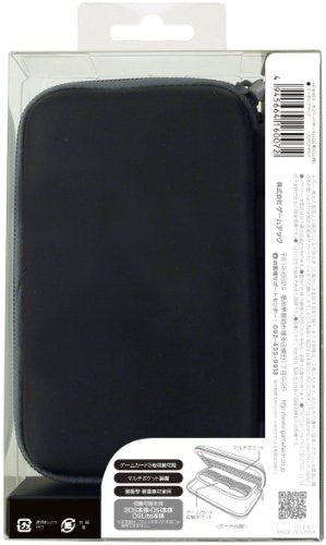 Image 2 for Palette Semi Hard Pouch for 3DS (Carbon Black)