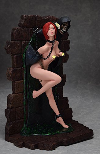 "Image 6 for Shungo Yazawa Original Figure Series - Hell Seducer ""Toraware no Hana"" - 1/6 - Red Hair ver. (Blackberry)"