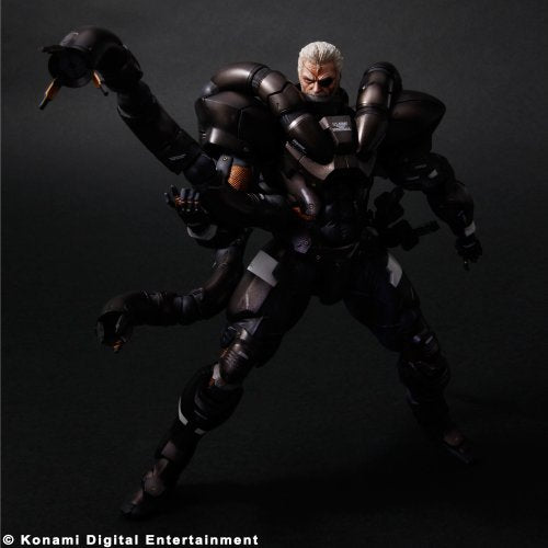Image 2 for Metal Gear Solid 2 - Solidus Snake - Play Arts Kai (Square Enix)
