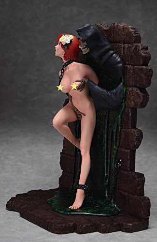 "Image 4 for Shungo Yazawa Original Figure Series - Hell Seducer ""Toraware no Hana"" - 1/6 - Red Hair ver. (Blackberry)"