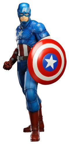 Image 1 for The Avengers - Captain America - ARTFX+ - Marvel The Avengers ARTFX+ - 1/10 (Kotobukiya)
