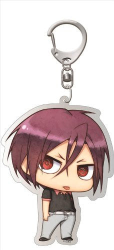 Image 1 for Free! - Matsuoka Rin - Deka Keyholder - Keyholder - Uniform ver., Chimi (Contents Seed)