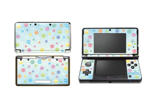 Image 1 for Puyo Puyo Design Skin for 3DS (Blue)