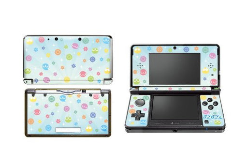 Puyo Puyo Design Skin for 3DS (Blue)