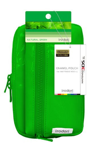 Image 2 for Enamel Pouch for 3DS LL (Natural Green)